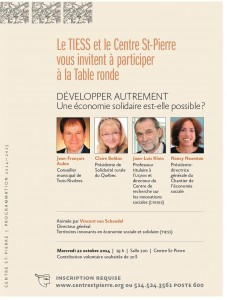 affiche table ronde