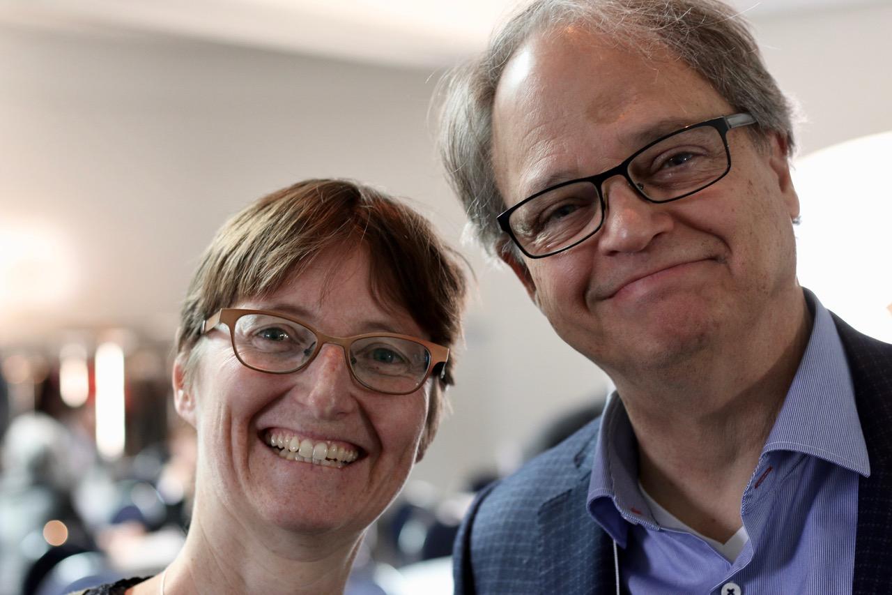 Geneviève Huot et Vincent van Schendel