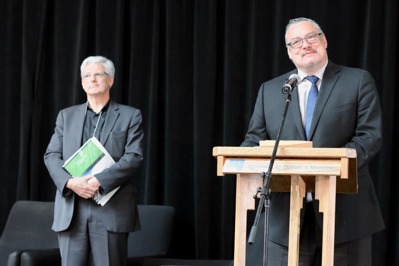 Dominique Jutras et Michel Jean